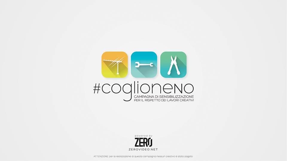 campagna per il rispetto dei lavori creativi: #coglioneNo
