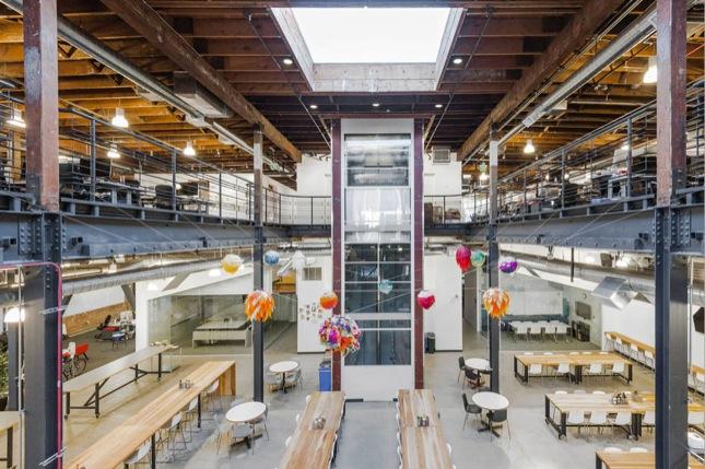 Pinterest nuovi uffici di San Francisco