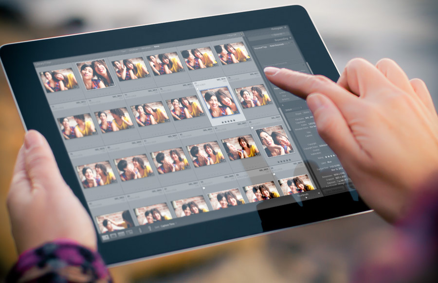 SalisNet | Adobe presenta Lightroom per IPad