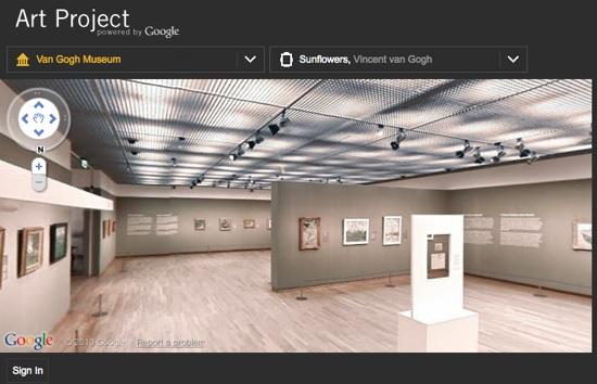 Navigare nell'arte e nella storia di Roma con Google Art Project